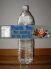 Lego Birthday Water Bottle Label