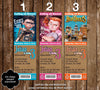 Boxtrolls Movie Birthday Party Ticket Invitations