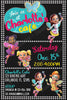 Butterbean's Cafe - Tall - Birthday Party - Invitation