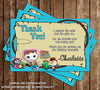 Sheriff Callie's Wild West Birthday Thank You Card