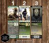Call of Duty Video Game Birthday Ticket Invitation