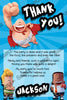 Captain Underpants - Birthday Party - Thank You Card