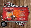 Disney's Cars Birthday Party Invitation