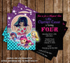Little Charmers Show Birthday Party Invitation