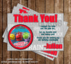 Disney Junior Chuggington Thank You Card (Grey)