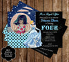 Disney Princess Cinderella Birthday Invitation