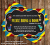 The Greatest Shower of All - Circus - Baby Shower - Invitation