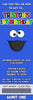Sesame Street Cookie Monster Birthday Party Thank You Card