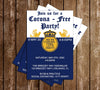 Corona Beer - Party - Invitation