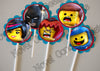 Free Lego Birthday Cupcake Topper / Party Favor