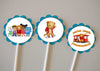 Daniel Tiger's Neighborhood Birthday Cupcake Topper / Party Favor