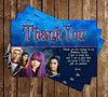 Disney - Descendants 2 -  Birthday Party - Invitation