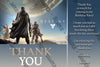 Destiny - Gamer - Birthday Party - Thank You Card