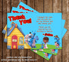 Disney Jr Doc McStuffins Shoe Birthday Thank You Card For Boys