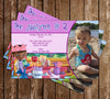 Disney Doc McStuffins Show Birthday Invitation (Photo)
