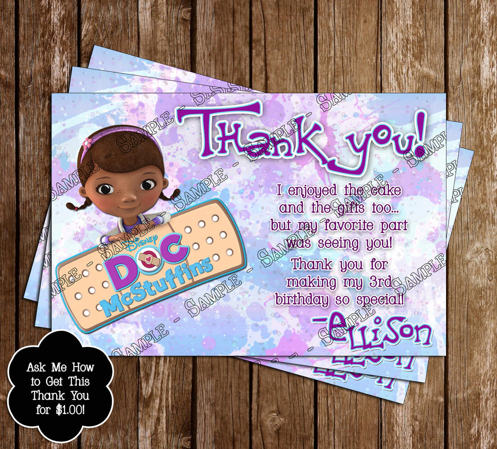 Novel concept designs doc mcstuffins birthday invitation photo doc mcstuffins birthday invitation photo filmwisefo