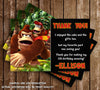 Donkey Kong Video Game Birthday Party Ticket Invitation