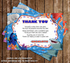 Disney Finding Dory Movie Birthday Ticket Invitation (3 Designs)