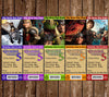 How to Train You Dragon Movie Birthday Party Ticket Invitation