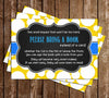 Rub-a-Dub-Dub Rubber Duck - Baby Shower - Bring A Book Insert