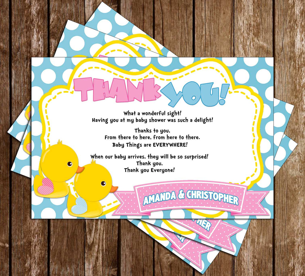 Novel Concept Designs Duck Gender Reveal Waddle Baby Be Baby