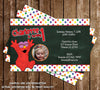 Baby Elmo 1st Birthday Party Invitation - DIGITAL FILE