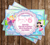 Fairies - Fantasy - Birthday Party - Invitation