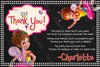 Fancy Nancy - Disney - Birthday Party - Invitations