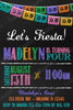 Fiesta - Nacho Party - Birthday Party - Invitation