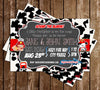 Sound the Alarm - Little Firefighter - Baby Shower - Party - Invitation