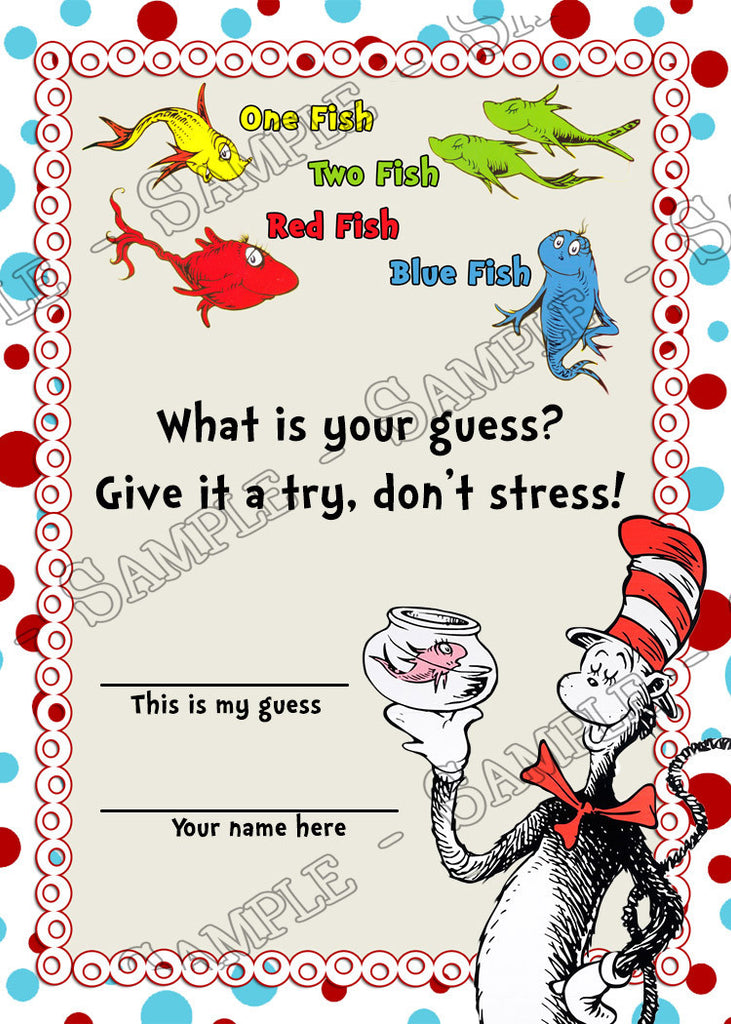 Novel Concept Designs - Dr Seuss - Cat in the Hat - One ...
