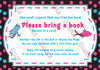 Dr Seuss - One Fish, Two Fish - Gender Reveal - Baby Shower - Thank You Card