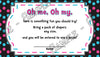 Dr Seuss - One Fish - Two Fish - New Fish - Gender Reveal - Diaper Raffle Ticket