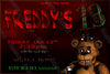 Five Nights at Freddy's - The Bear - Birthday Party Invitation