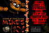 Five Nights at Freddy's - Red - Birthday Party - Invitation