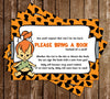 Pebbles - Flintstones - Baby Shower - Invitation
