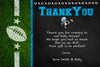 Football - MVP - Baby Shower - Thank You Card