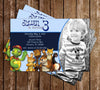 PBS Franklin and Friends Show Birthday Invitation