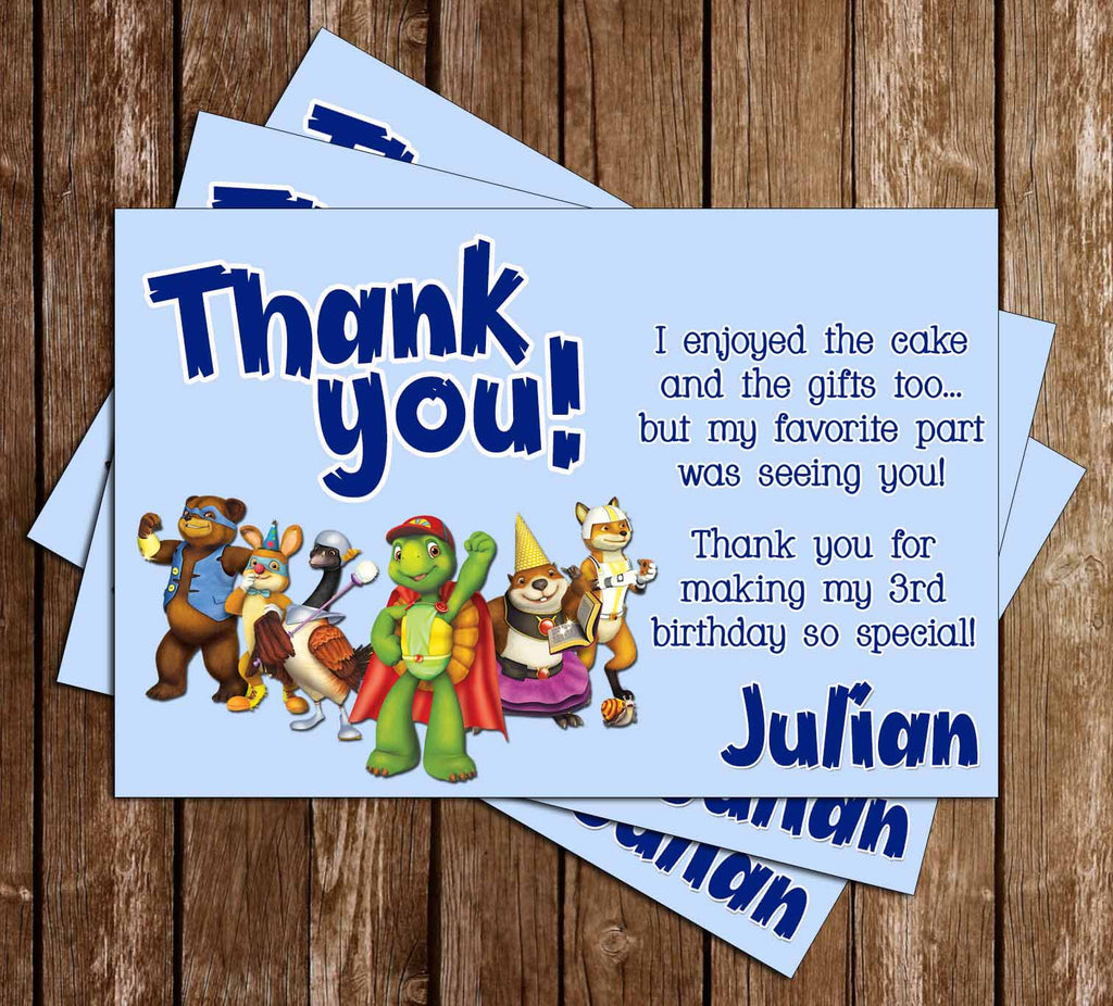 Franklin and Friends Birthday Thanks You Card