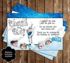 Disney's Frozen Movie Birthday Party Ticket Invitation