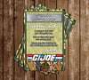 GI Joe - Birthday Party - Thank You Card