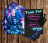 Guardians of the Galaxy Vol 2 - Movie - Birthday - Ticket Invitations