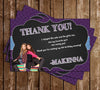 Disney - Girl Meets World - Birthday Party Thank You Card