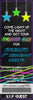 Light Up - Glow in the Dark - Neon - Birthday Party Ticket Invitation