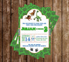 Good Dinosaur Movie Birthday Party Invitation