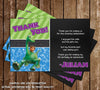 The Good Dinosaur Movie Birthday Party Invitation