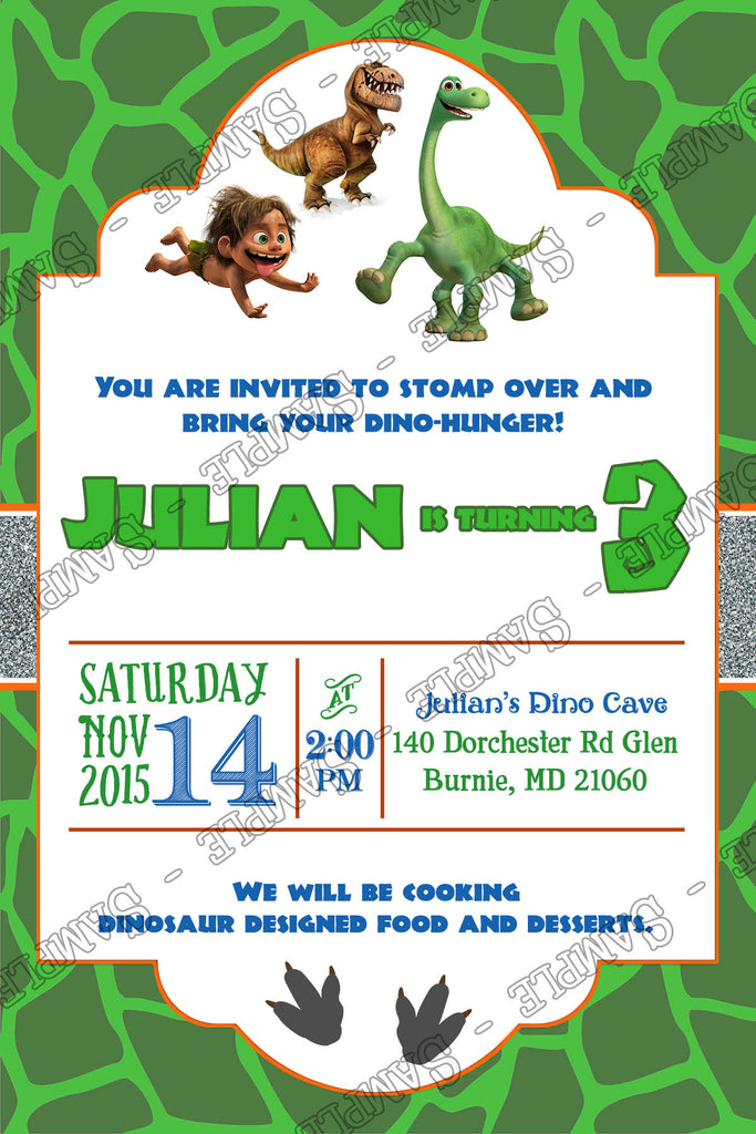 Novel Concept Designs - The Good Dinosaur Movie Birthday Party ...