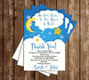 Good Night Moon - Love to the Moon and Back - Baby Shower - Invitation