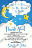 Good Night Moon - To the Moon and Back - Baby Shower - Invitation