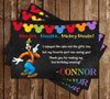 Goofy - Chalkboard Birthday - Thank You Card